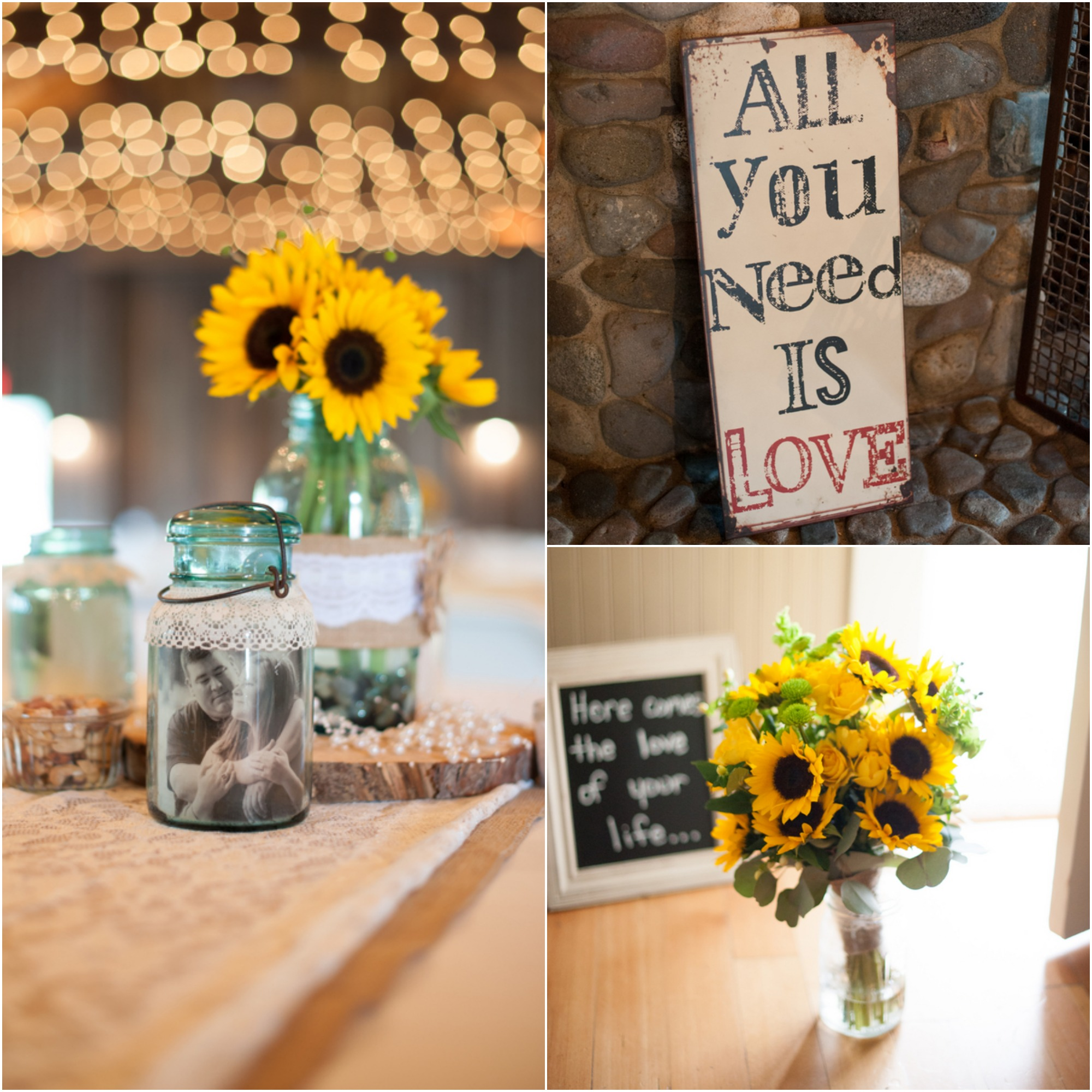 Washington state farm wedding at the kelley rustic