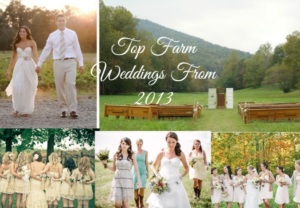 Top Farm Weddings From 2013