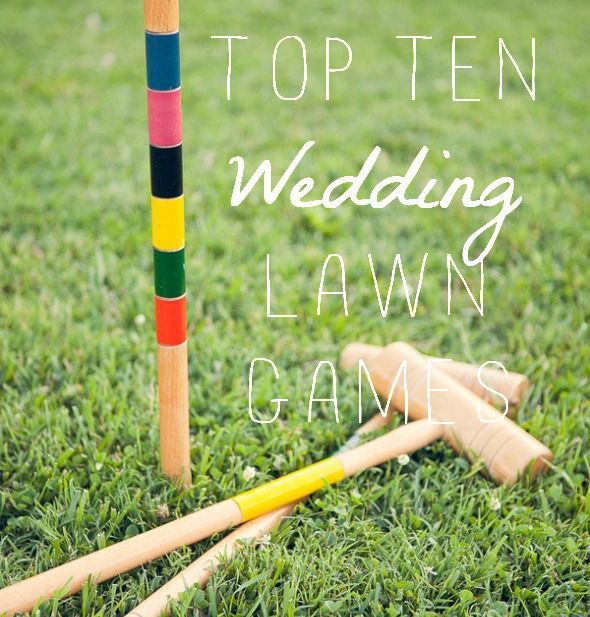 Games To Play At Weddings: Top Ten Lawn Games For Your Wedding