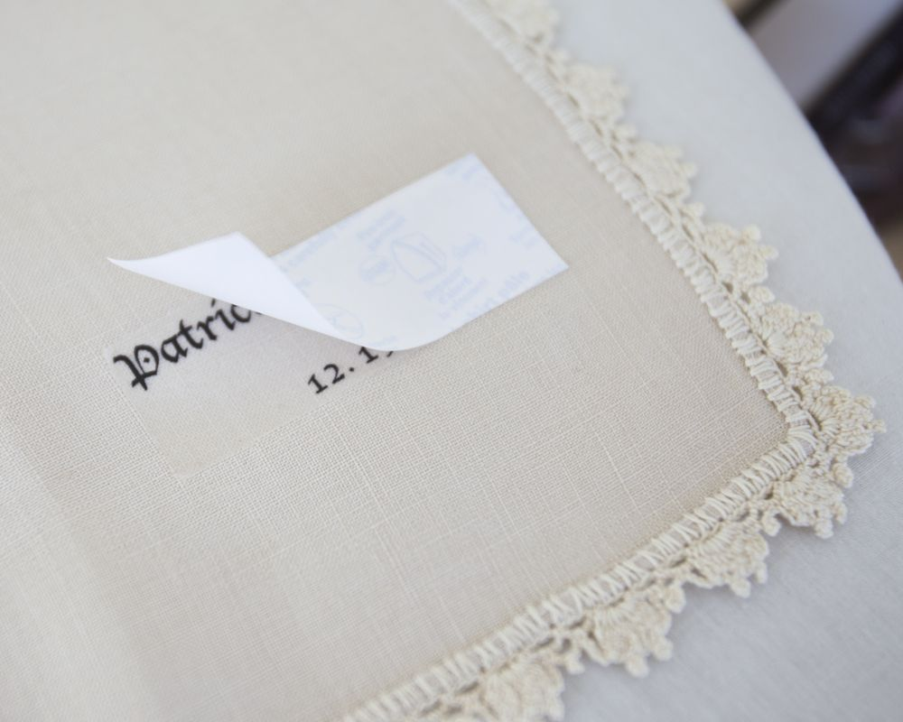 Step By Vintage Napkin Place Cards