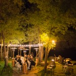 Rustic Wedding At Night