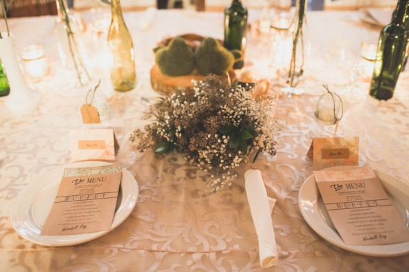Southern Rustic Wedding Table