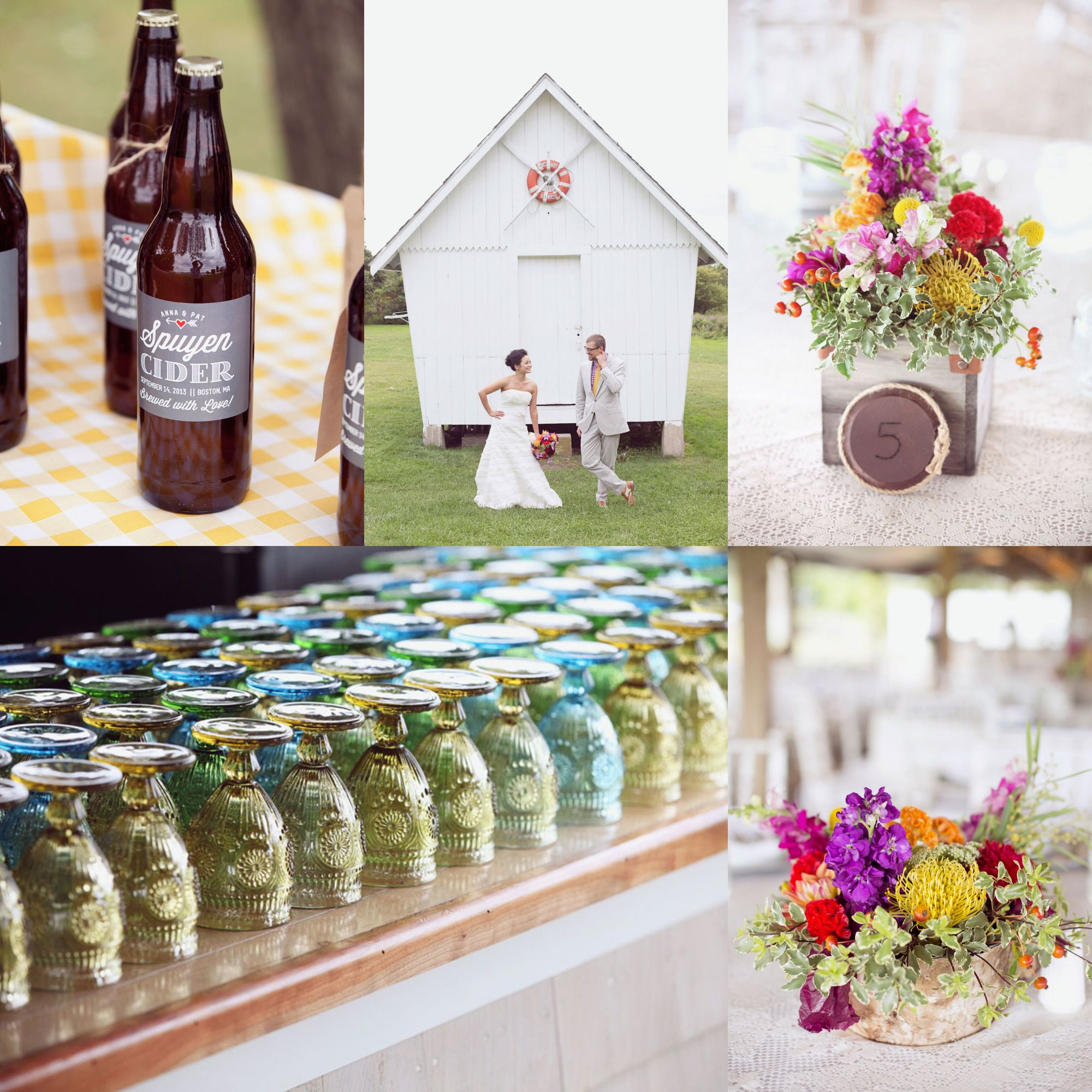A Surprise Wedding On Thompson Island Boston