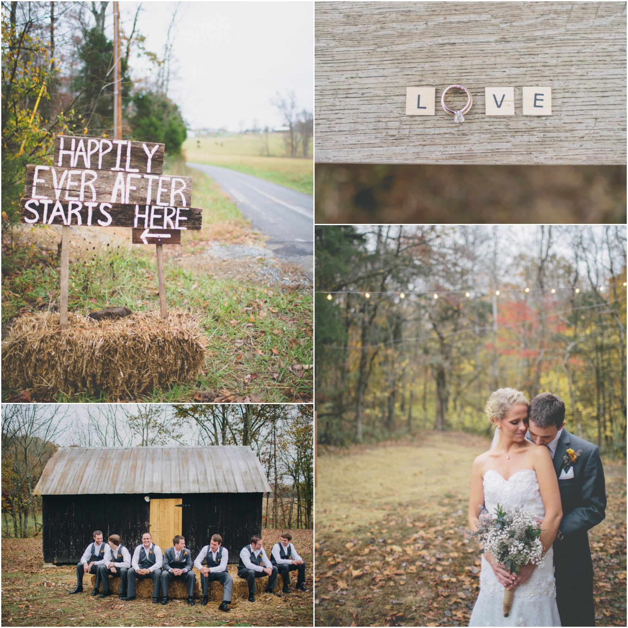 Vintage Barn Wedding Ideas: Vintage Style Farm & Barn Wedding