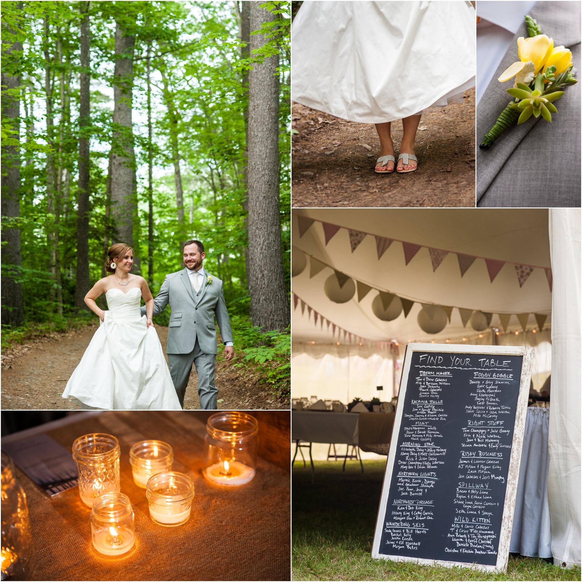 New Hampshire Lake Wedding Rustic Wedding Chic