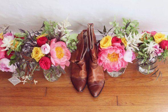 Cowboy Boots For A Bride