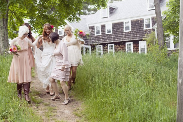 Outdoor Vintage Style Wedding