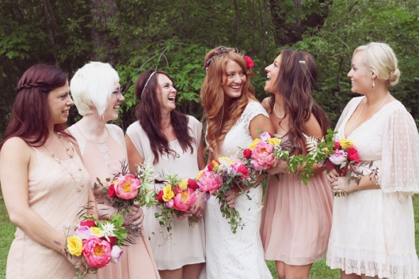 Anthropologie Style Bridesmaids