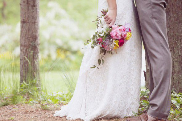 Vintage Style Wedding Bouquet