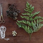 How to Make a Woodland Wedding Garland