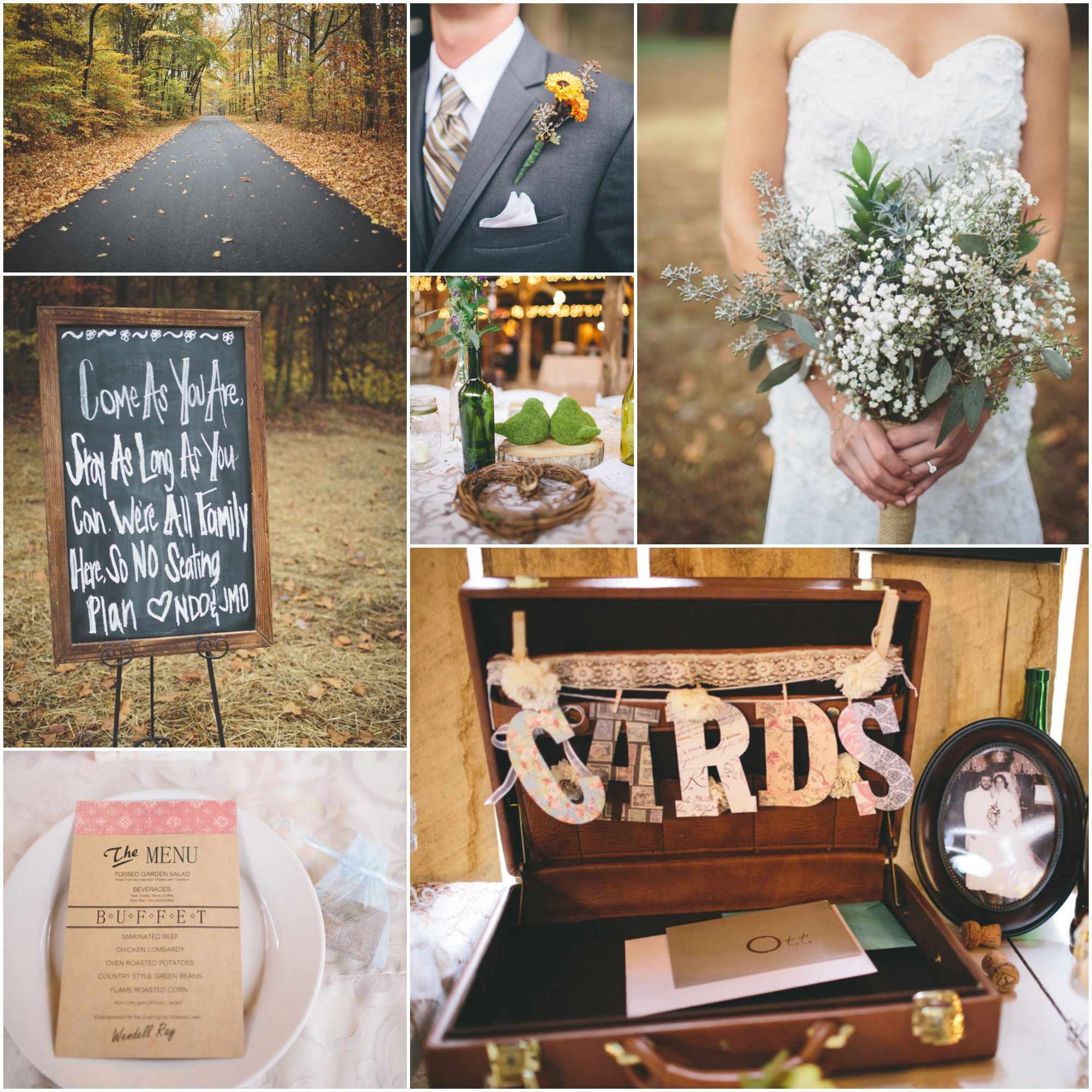 Southern Wedding Decoration Ideas: Vintage Style Farm & Barn Wedding