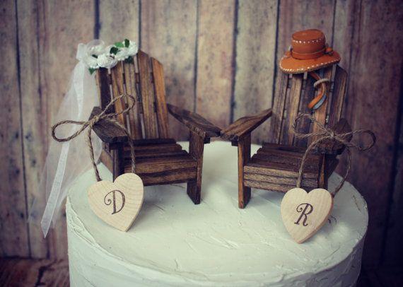 Adirondack Chair Cake Topper