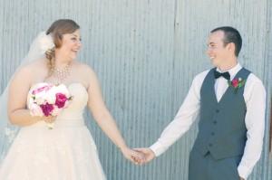 Pink Themed Barn Wedding: Jessica + Corey