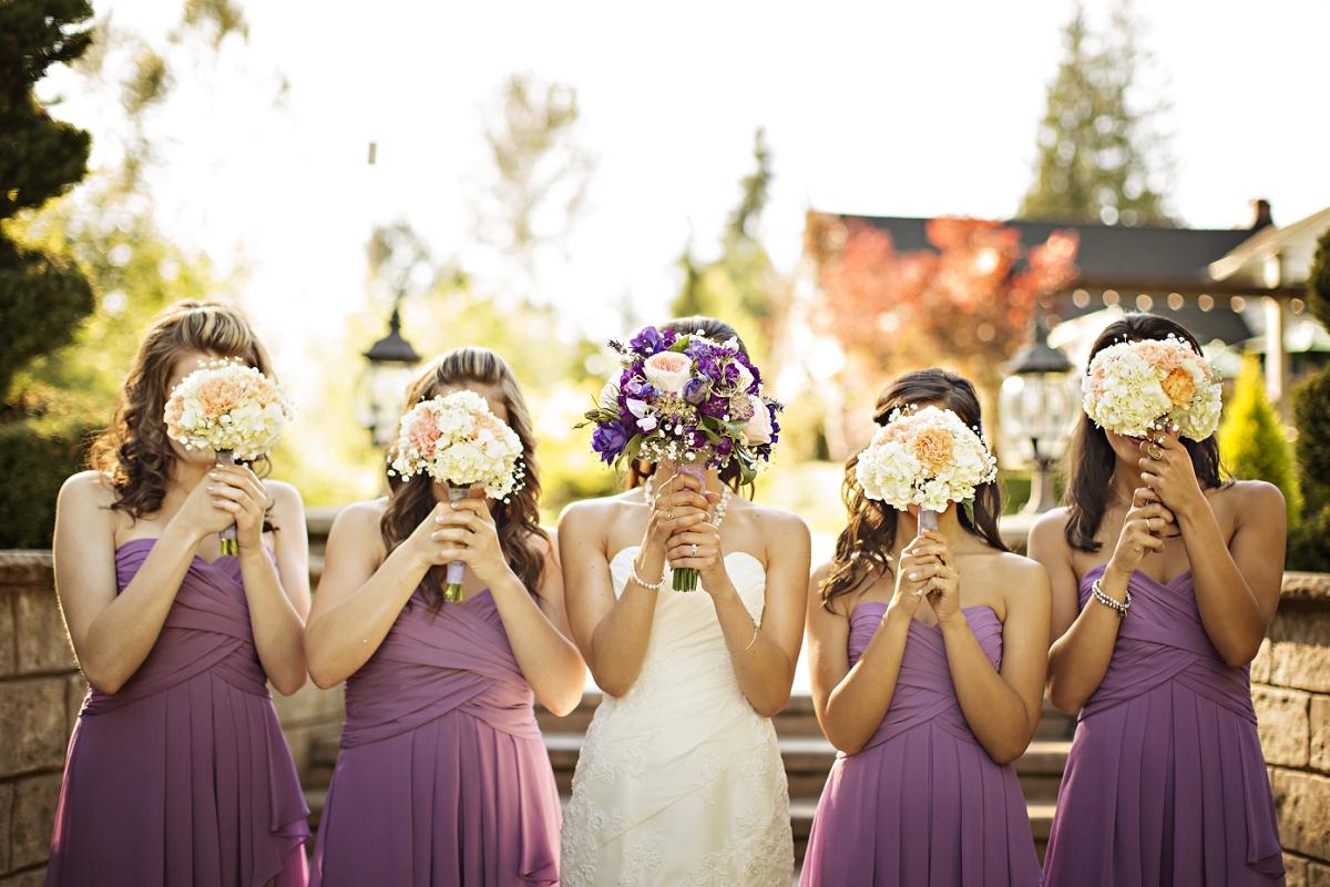 Purple Themed Country Wedding Rustic Wedding Chic