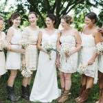 Country Style Wedding Bridesmaids