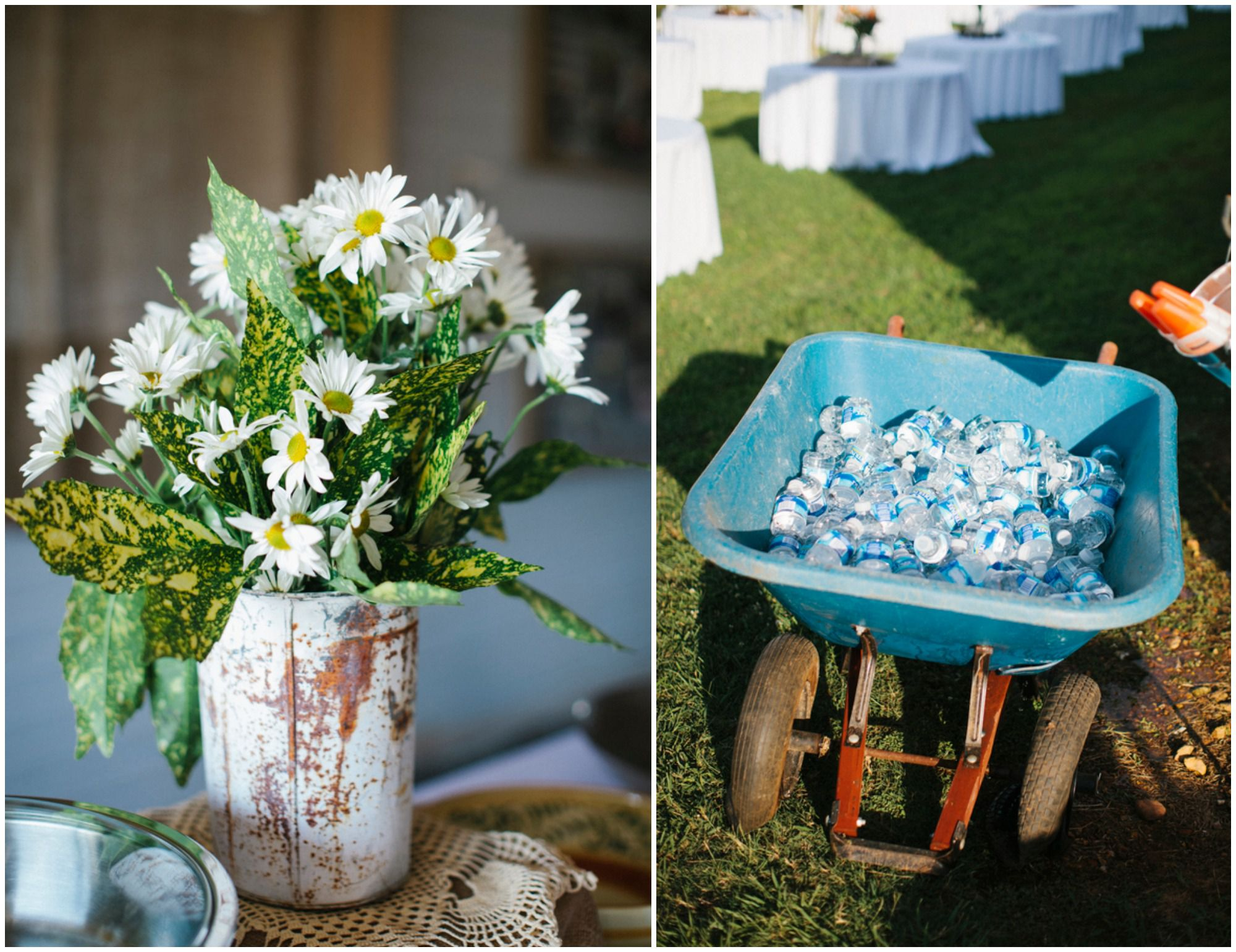 Barn Wedding Country Centerpieces Decorations For A