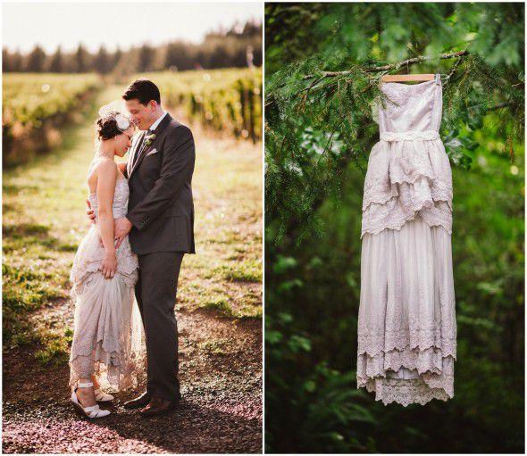 Portland Oregon Rustic Industrial Wedding