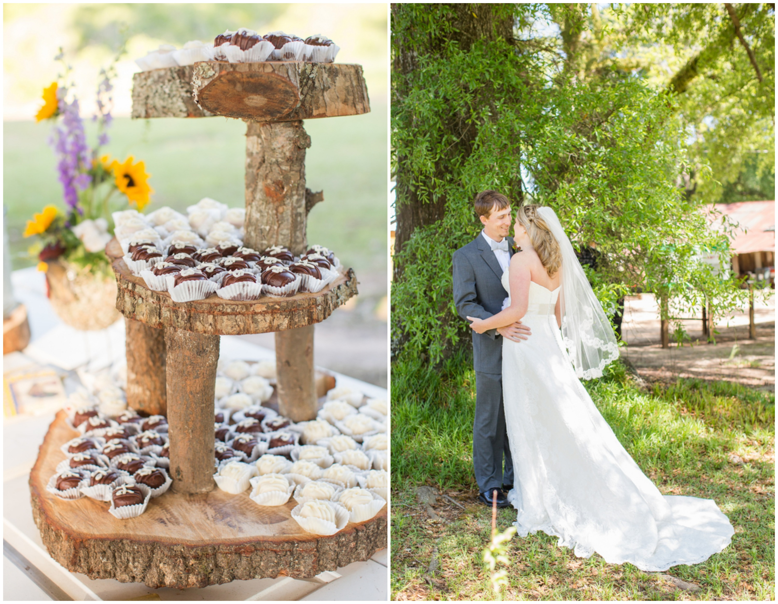 Fall Country Wedding Cakes