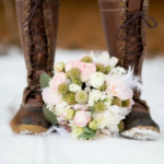 Ten Beautiful Snowy Weddings