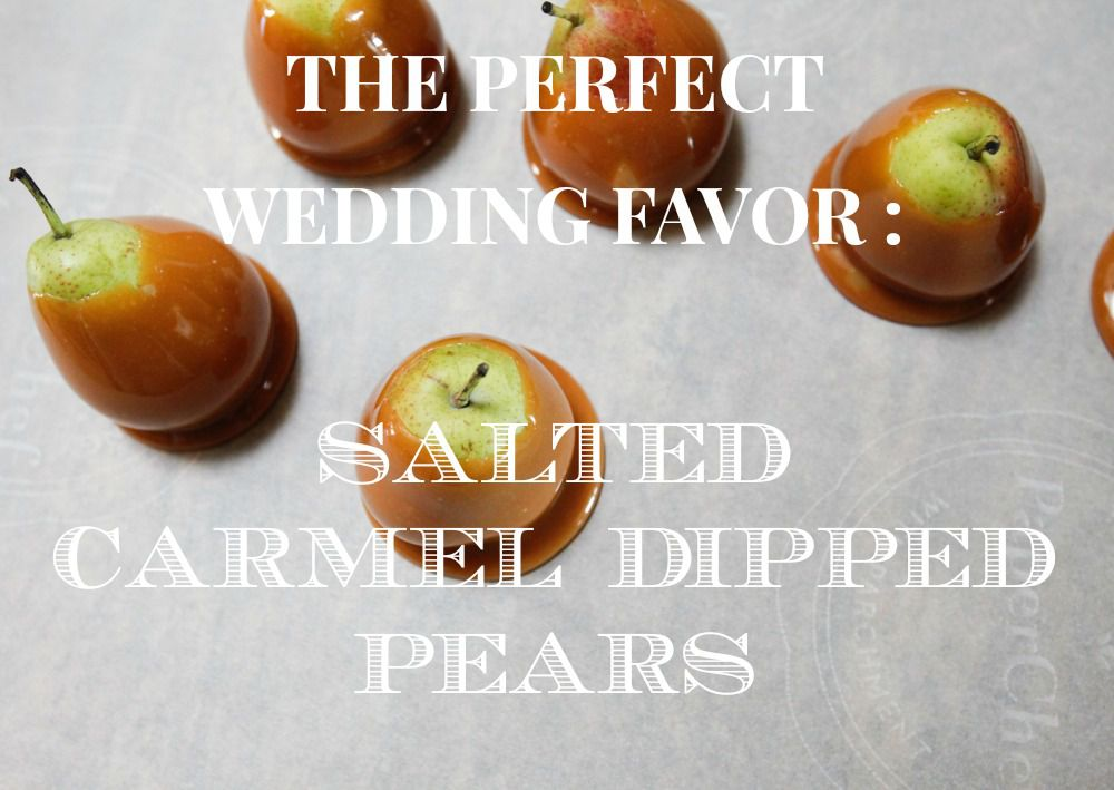 How To Make Perfect Pear Wedding Favors Rustic Wedding Chic