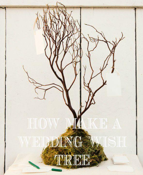 How to Make a Wedding Wish Tree