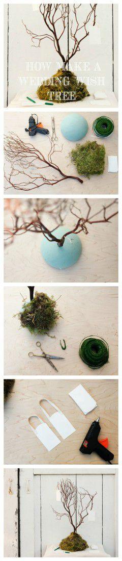 Step By Step : Wedding Wish Tree