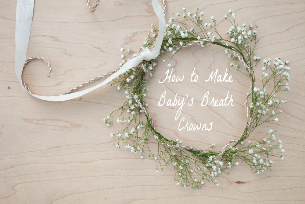 White Wedding Flower Crown Bridal Flower Crown Baby/'s Breath Wedding Wreath Baby/'s Breath Headpiece Rustic Wedding Bridal Headdress