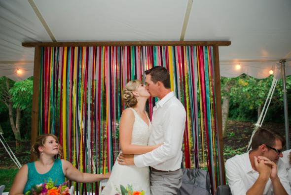 Colorful Farm Wedding Rustic Wedding Chic