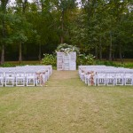 Outdoor Country Wedding Ceremony Decorations