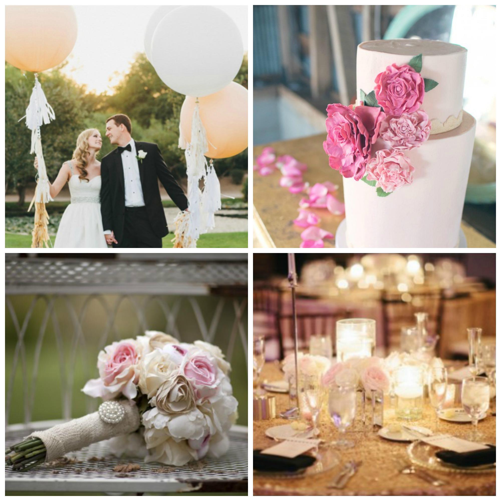 Wedding Color Inspiration : Blush Tones