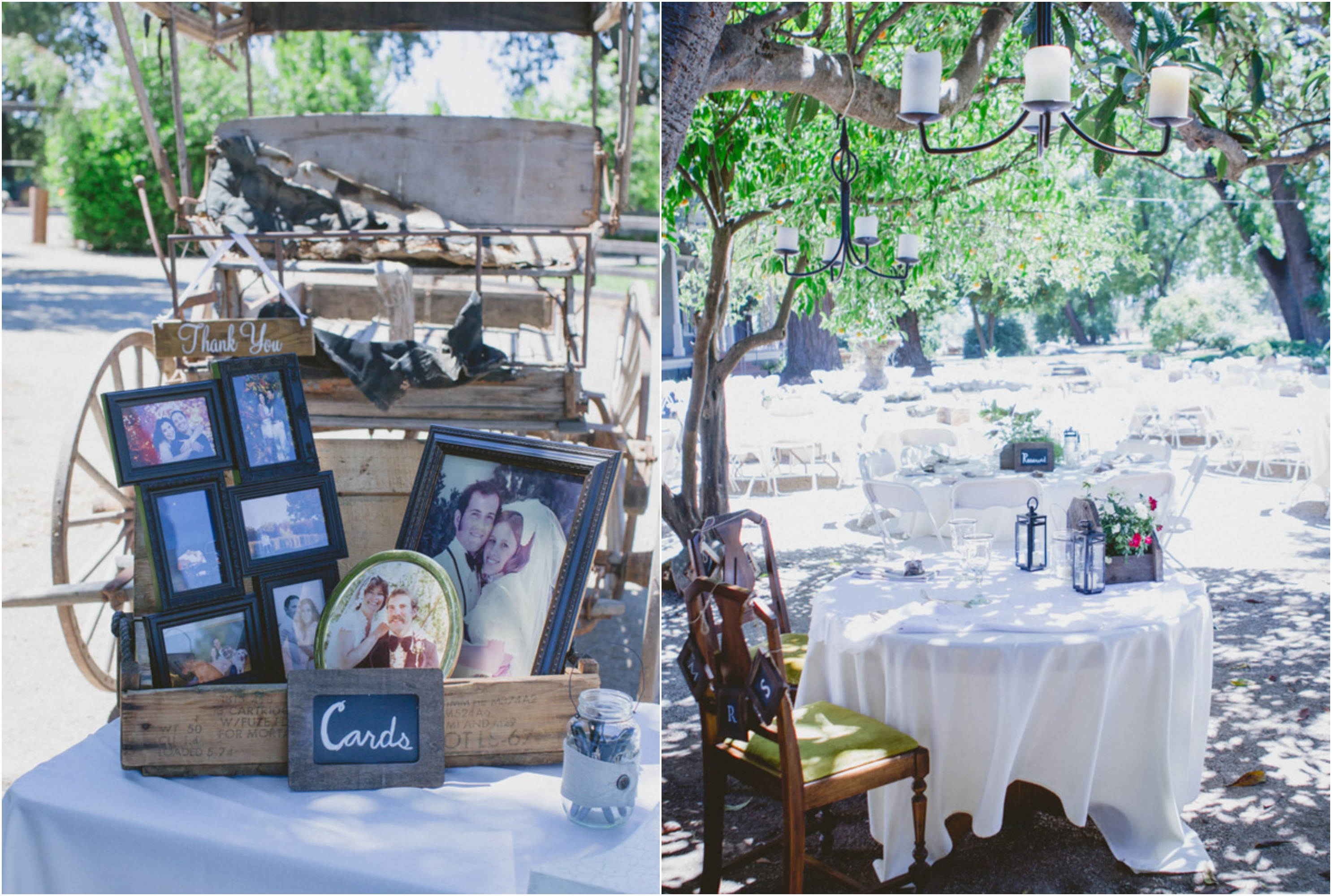 Country ranch wedding in california rustic wedding chic for Country wedding reception decorations