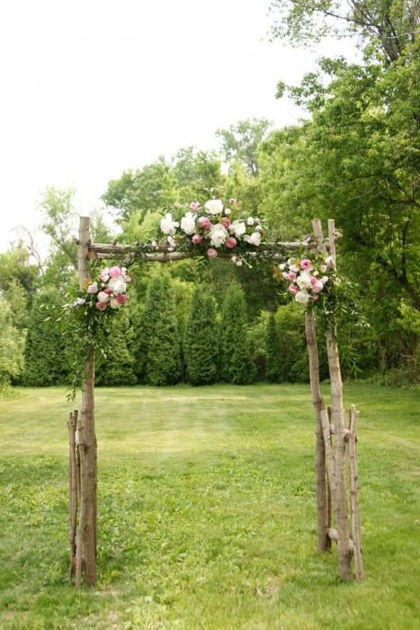 Outdoor Ceremony Backdrop Inspiration