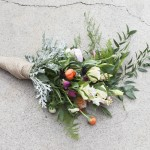 Step By Step : Eclectic Wedding Bouquet