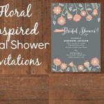 Floral Inspired Bridal Shower Invitations