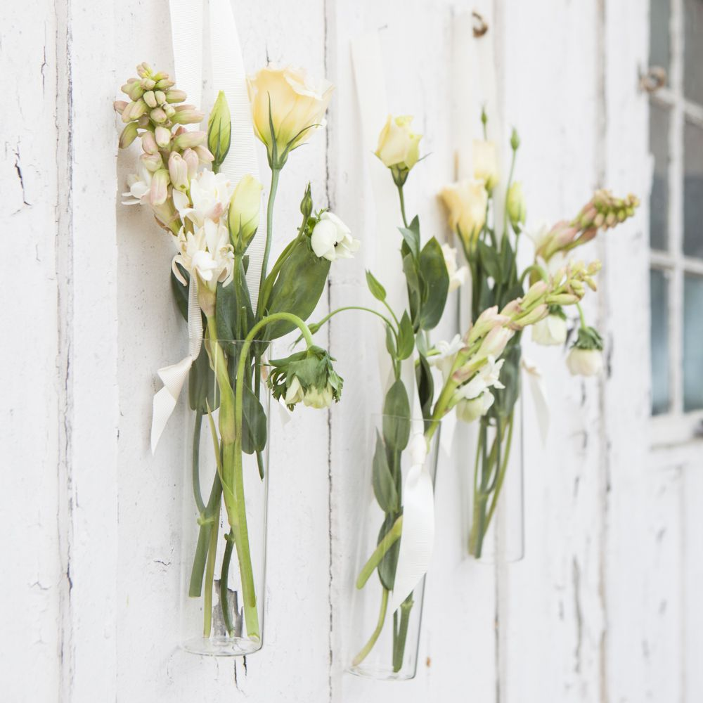 hanging flower vases wedding how to style hanging floral vases rustic wedding chic 4698
