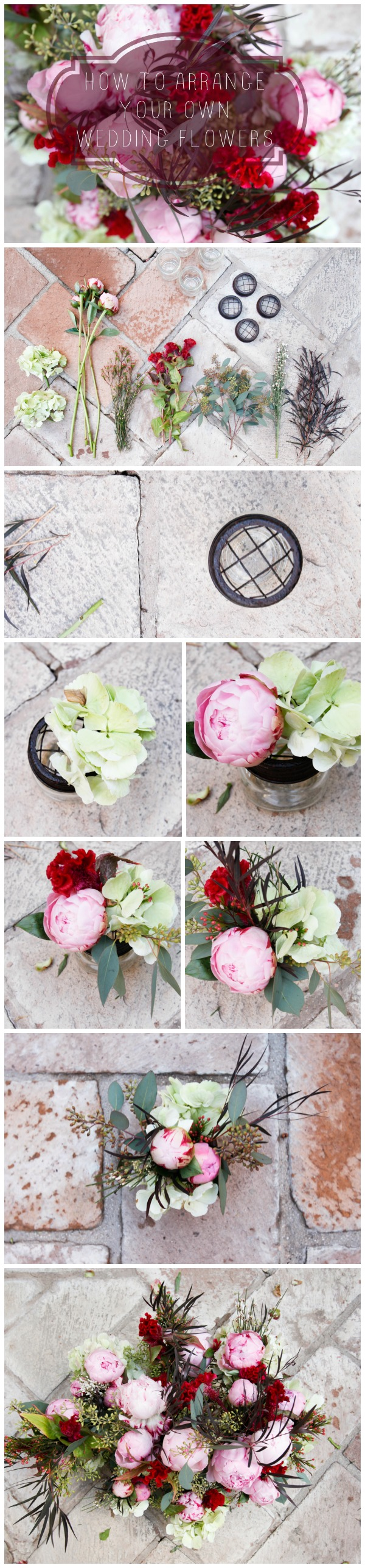how to make your own rustic wedding cake how to make your own peony centerpieces rustic wedding chic 16074