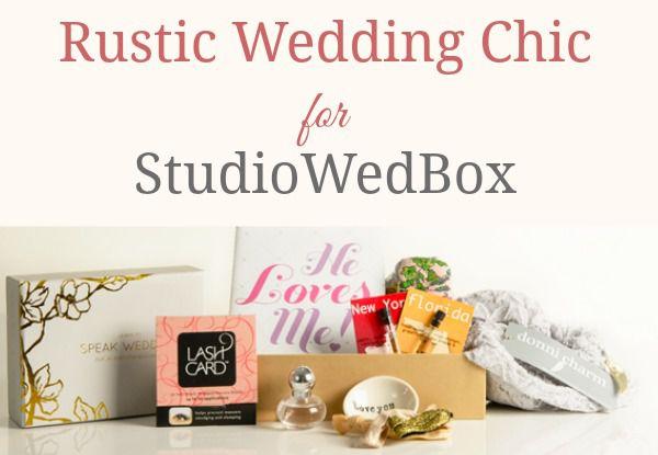 Rustic Wedding Chic For StudioWedBox