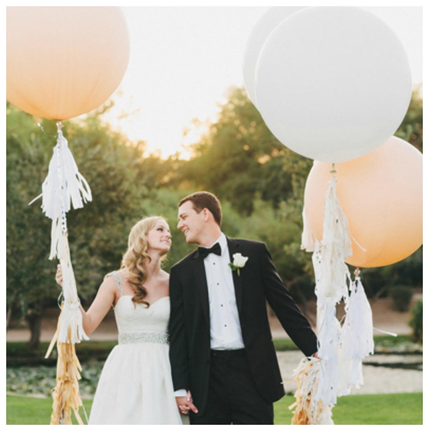 Ten Wedding Balloon Ideas We Love