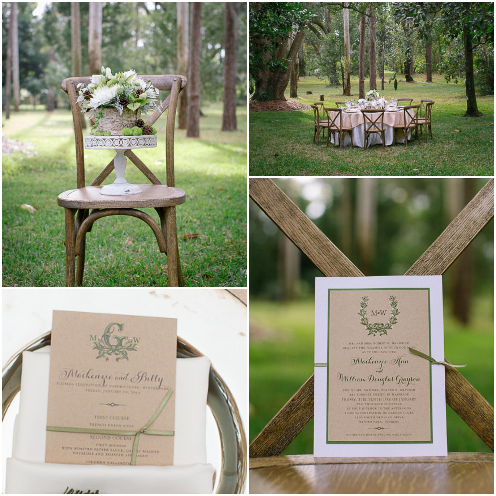 Rustic Back Yard Wedding Ideas: Woodland Rustic Wedding Inspiration