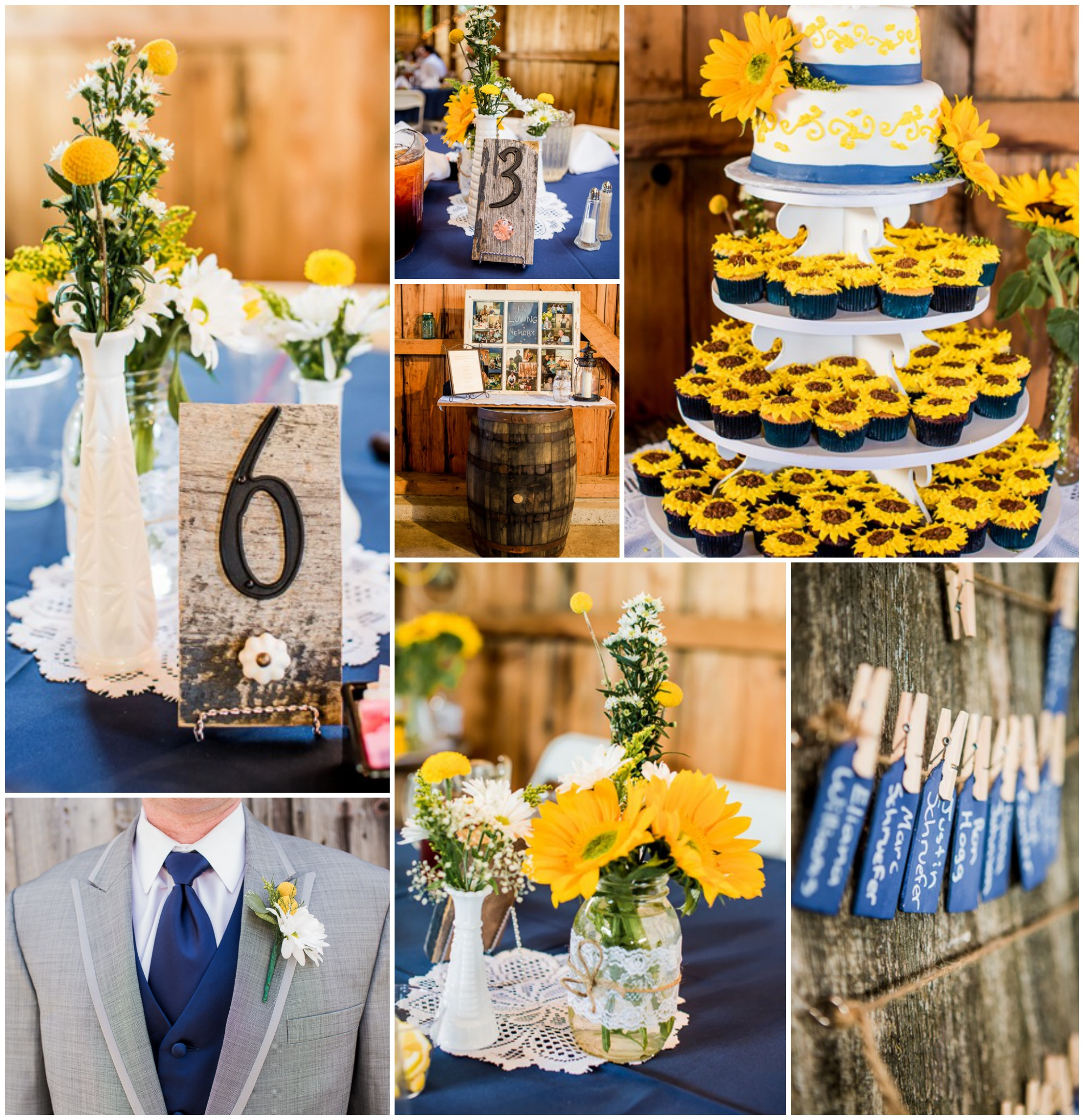 Yellow Country Wedding - Rustic Wedding Chic - photo#26