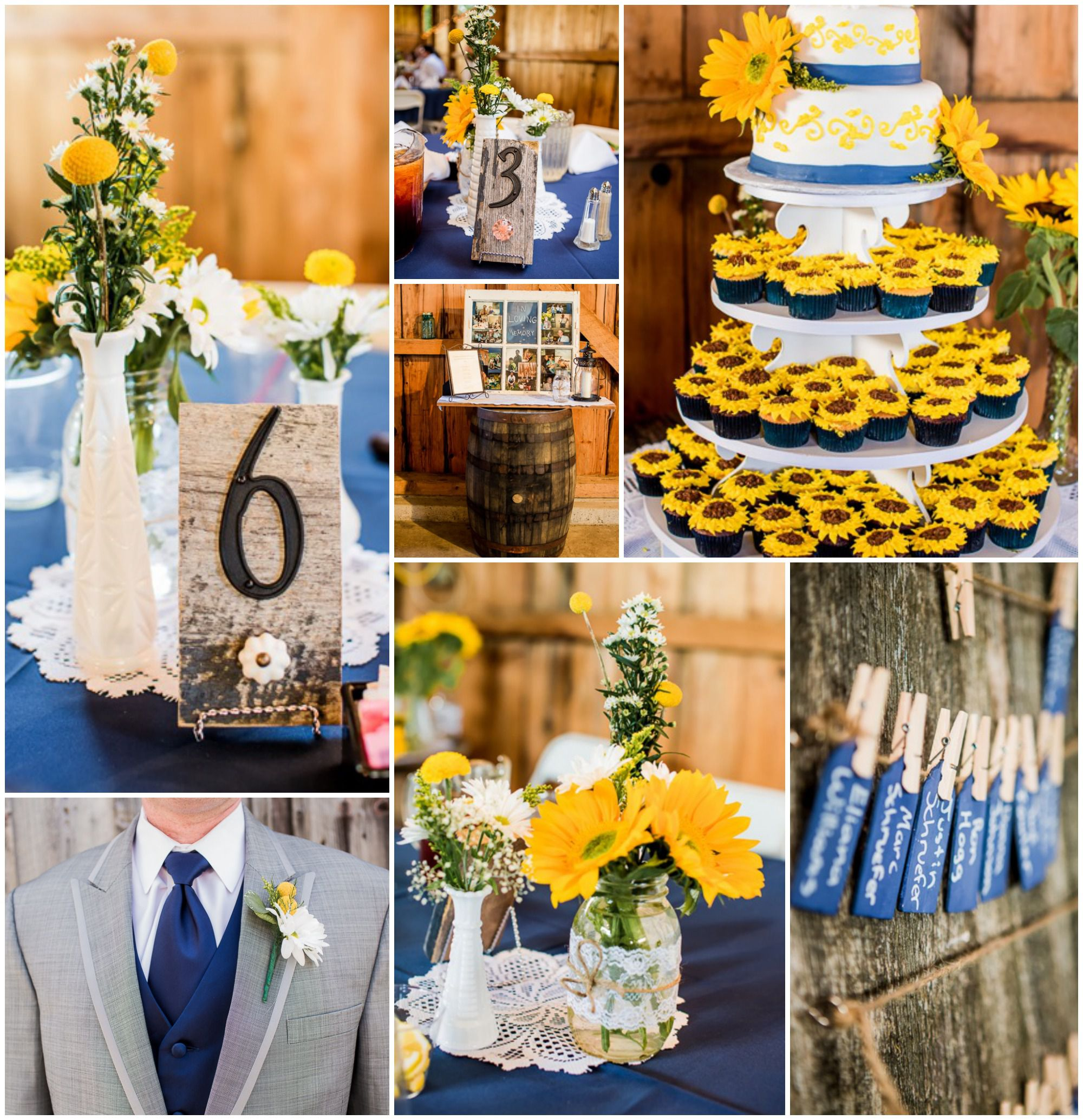 Country Wedding Ideas: Yellow Country Wedding