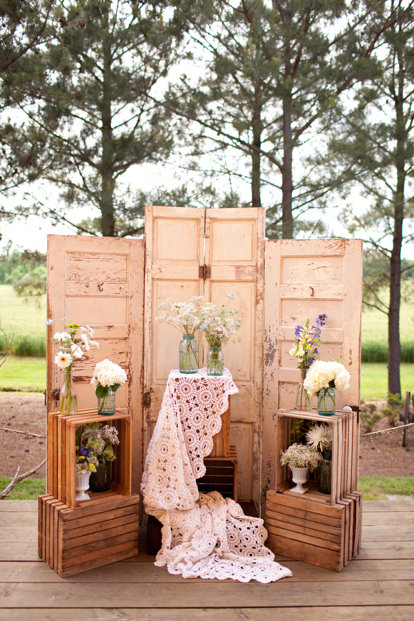 Country Elegant Barn Wedding - Rustic Wedding Chic