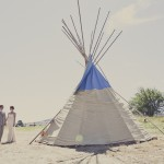 Teepee Rustic Wedding