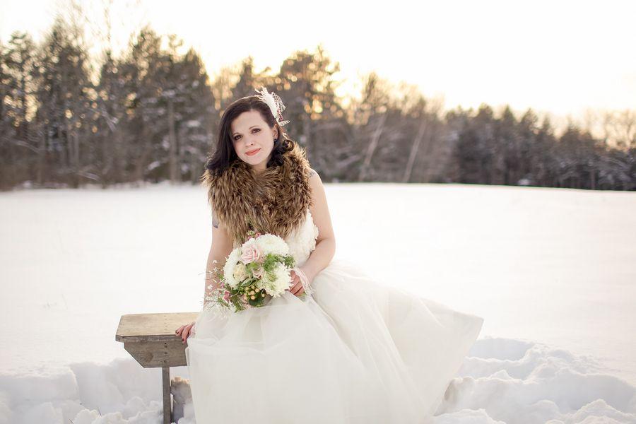 Winter Wedding Inspiration Rustic