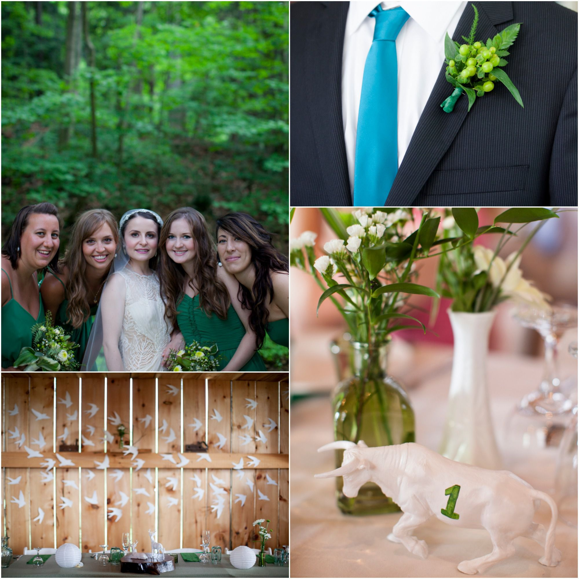 Kinfolk Rustic Inspired Wedding