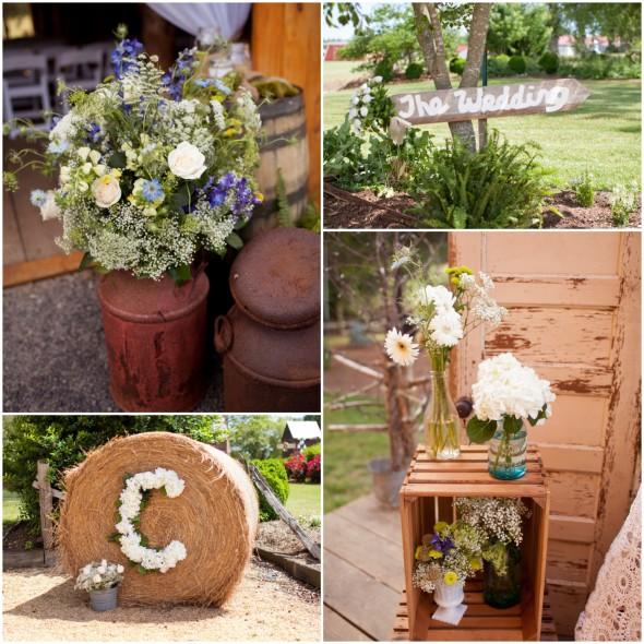 Rustic Elegant Barn Wedding Ideas: Country Elegant Barn Wedding