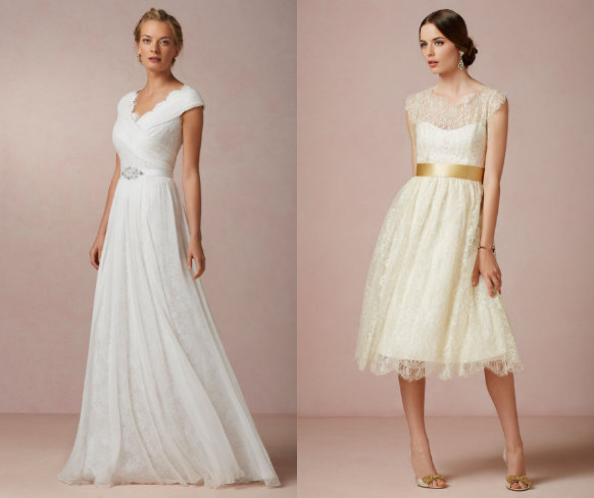 High Neckline Wedding Gowns You Will Want To Wear - Rustic Wedding Chic