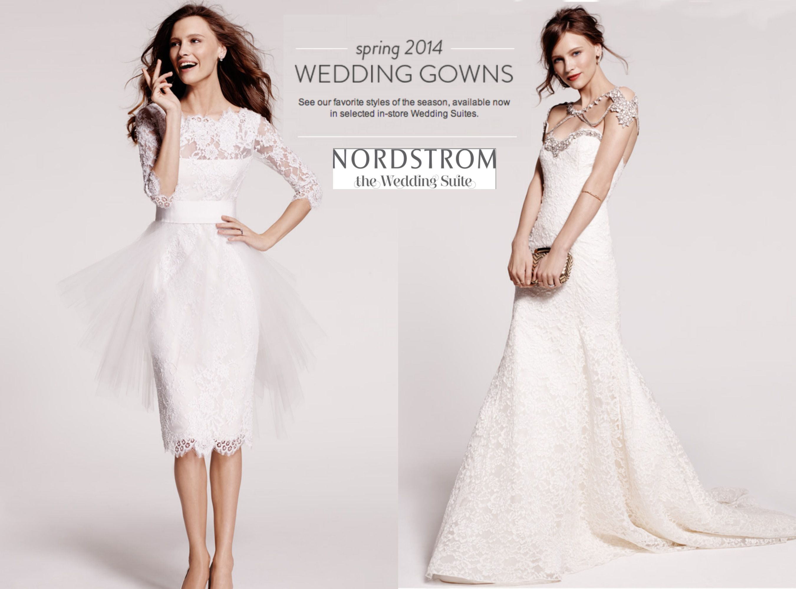 Nordstrom wedding suite spring preview rustic wedding chic for Nordstrom dresses for wedding