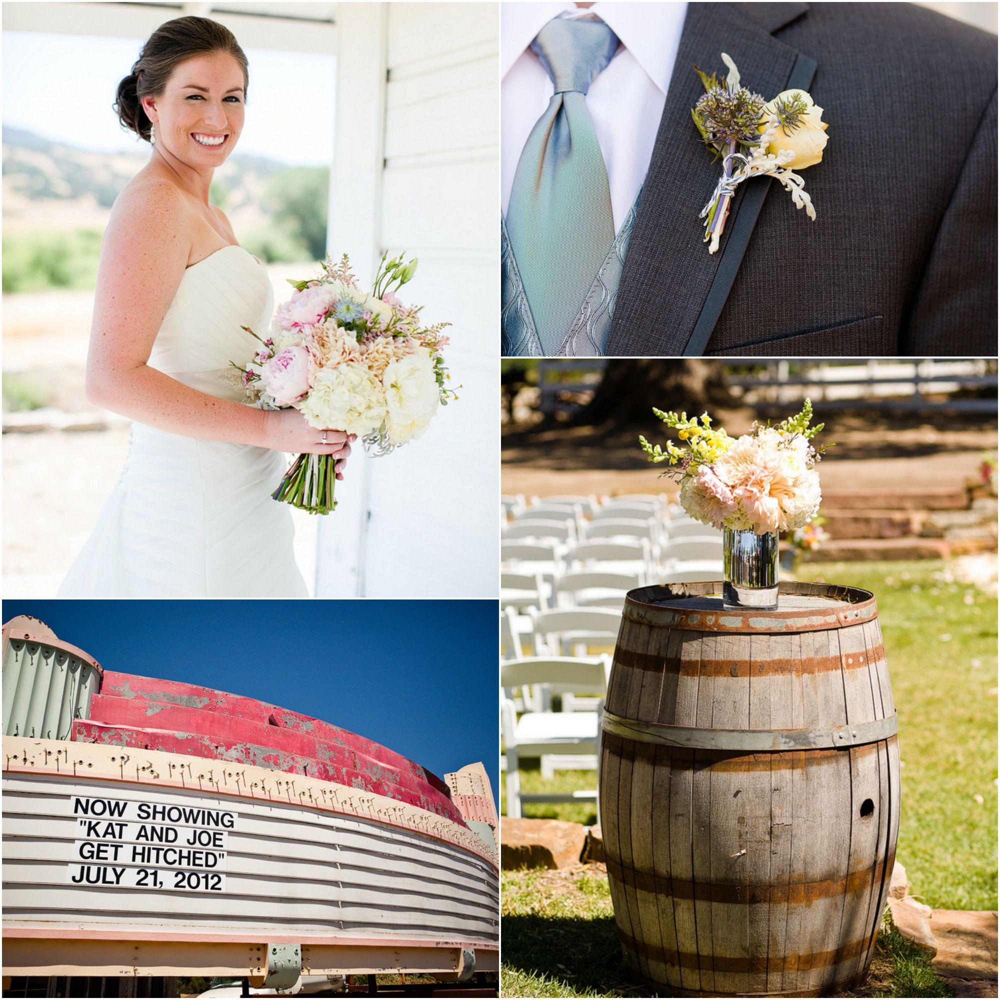 California Rustic Ranch Wedding: Santa Margarita Rustic California Wedding