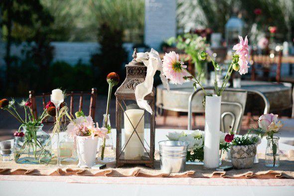 Vintage Wedding Centerpiece Ideas Rustic Chic